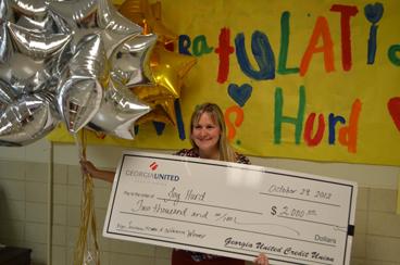Joy Hurd - Grand Prize Winnder