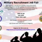 Georgia's Department of Corrections Hosts Military Recruitment Job Fair