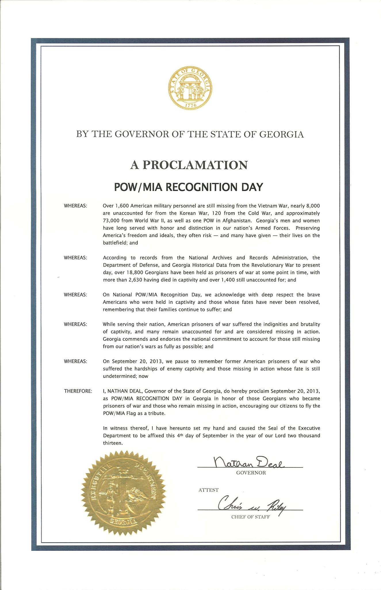 pow mia recognition day a list of health awareness events for july .