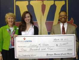 2013 Scholarship Wiiner, Lindsey Vinson