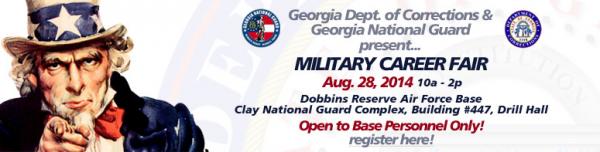 Aug Military career fair