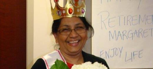 August 2014 featured retiree